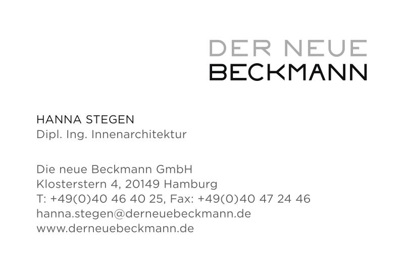 Showroom Der Neue Beckmann