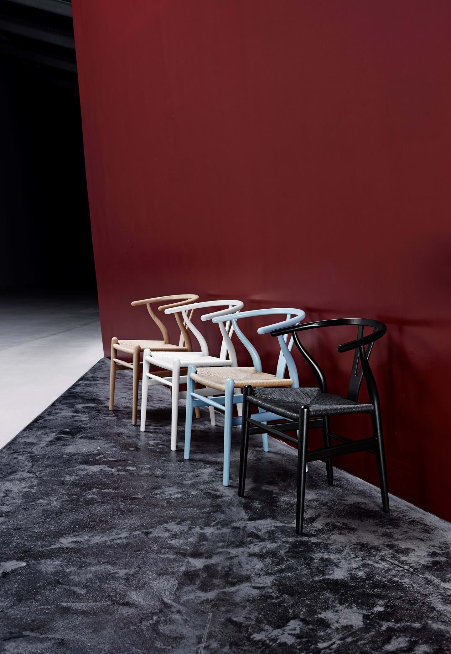Schönes Ambiente Bild vom dänischen Möbel Hersteller Carl Hansen