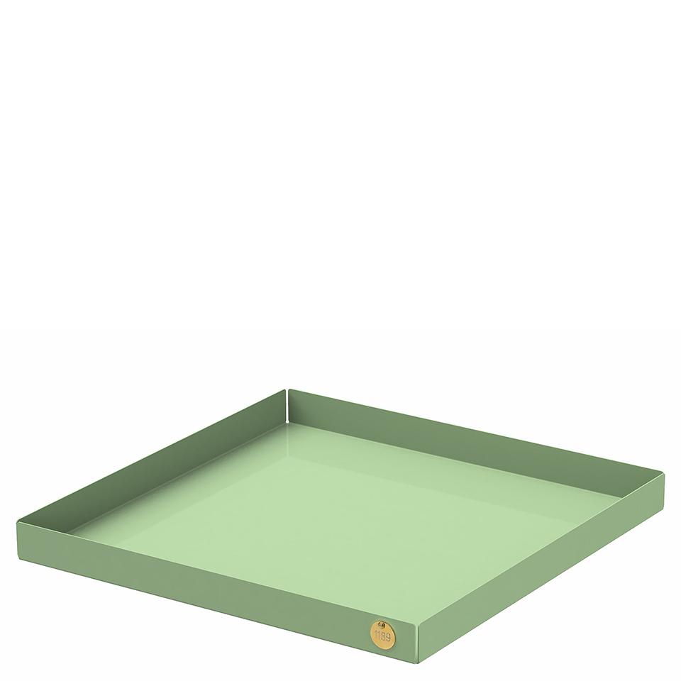 POI XL von Victor Foxtrot. Ablage aus Stahl in der Farbe Lindgrün