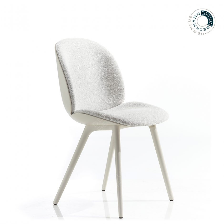 Beetle Dining Chair Alabaster White