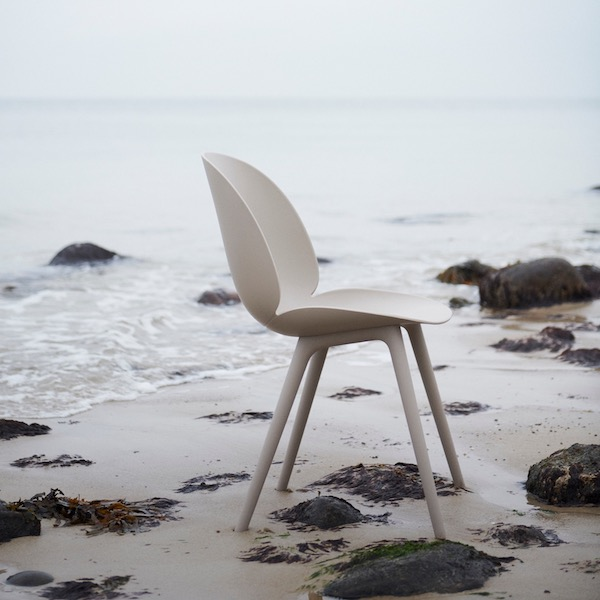 Beetle Chair, Plastic Edition New Beige