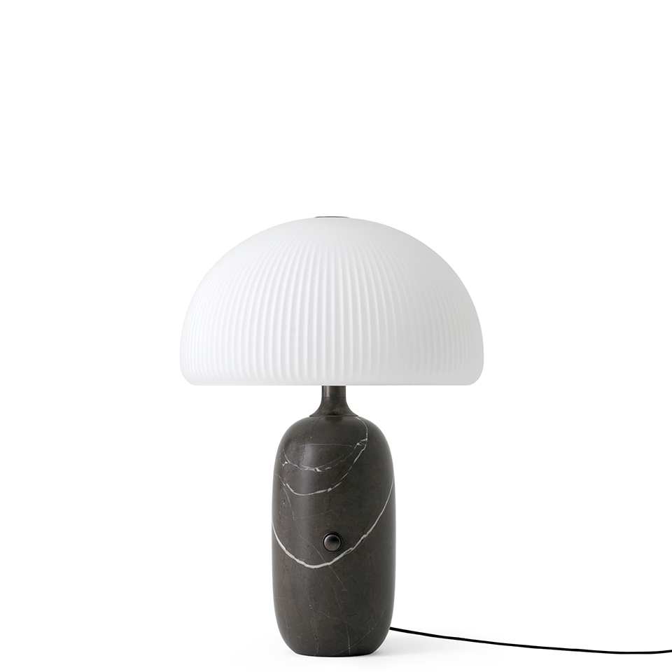 Sculpture Table Lamp, Large, Grey